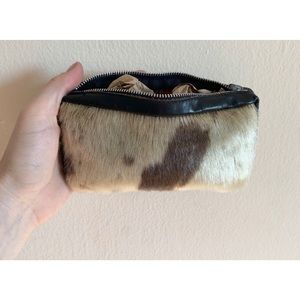 pony hair wallet